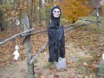 Halloween greeter