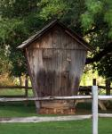 Outhouse or shed, it is adorable